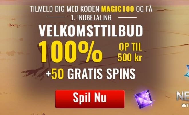 SlotsMagic - 50 FREE Spins