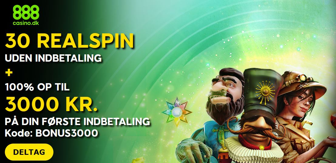888casino - 30 realspin anmeldelse