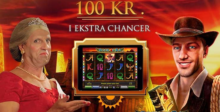 Ny bonus: Få for 100 kroner gratis spins på Book of Ra