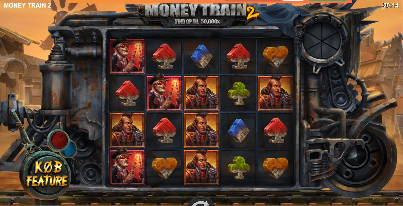 Forårsgave til alle: 10 CASH Free spins på Money Train 2